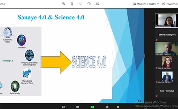 Science 4.0 çərçivəsində yaranan böyük həcmli verilənlər problemi araşdırılır