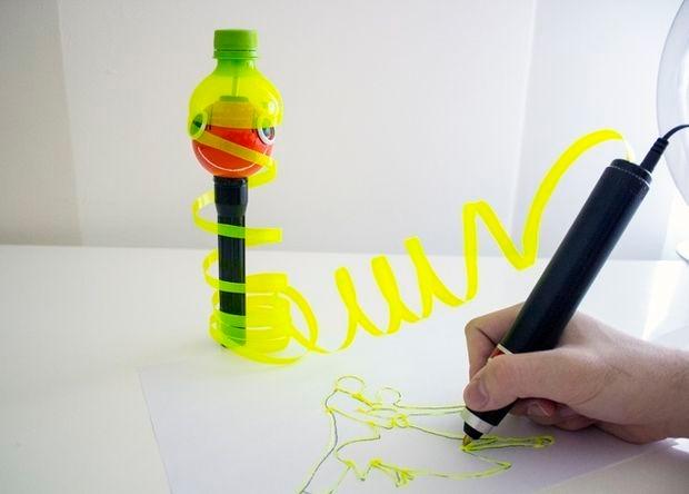 3D-qələm plastik butulkadan istifadə etməklə çap edəcək