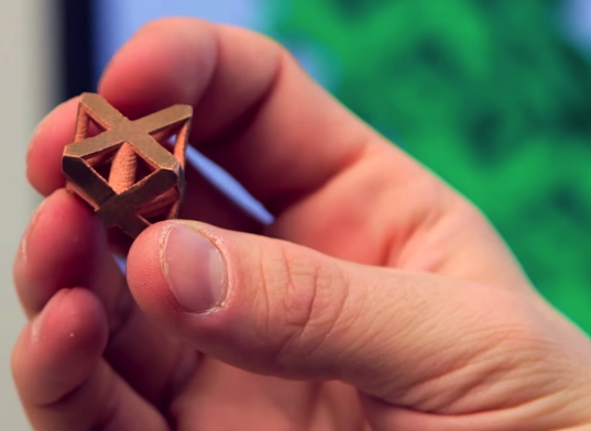 3D Printer That Fabricates Complex Copper Parts
