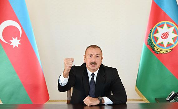 Prezident İlham Əliyev Laçının işğaldan azad olunması ilə bağlı xalqa müraciət edib