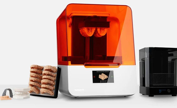 3D printer for dentures created