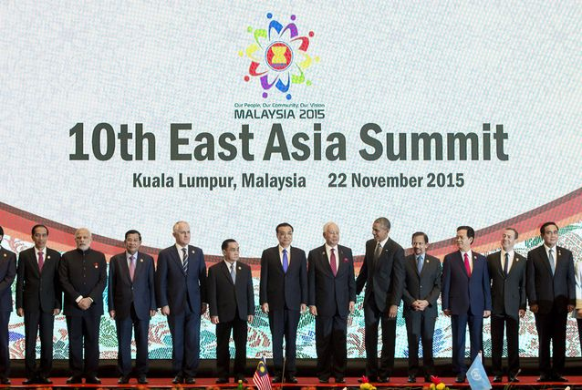 The 10th East Asia Summit held