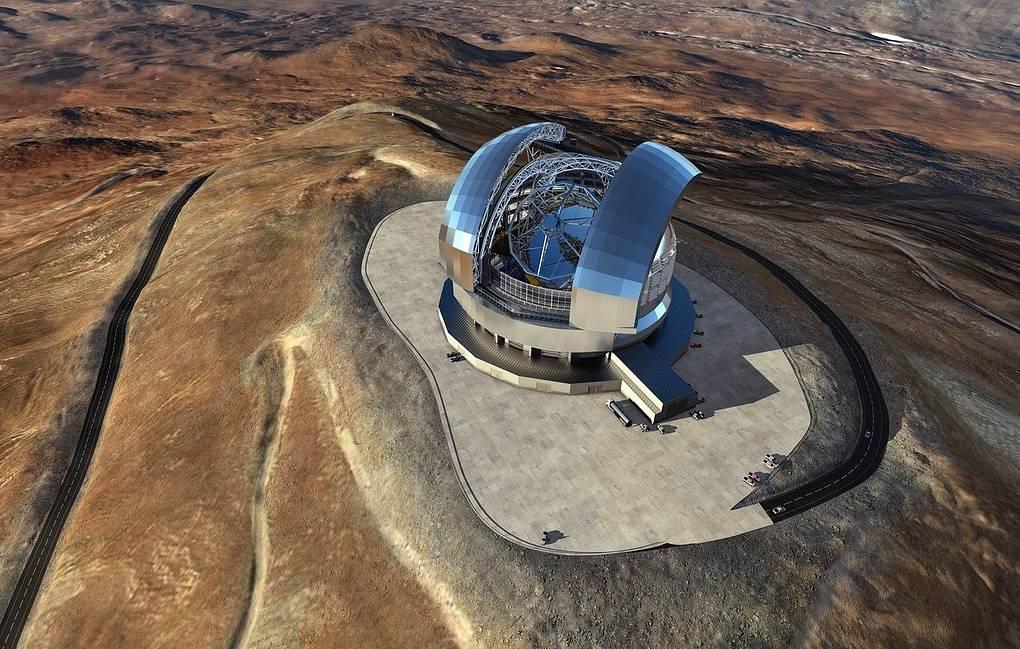 Çilidə dünyanın ən böyük optik teleskopu tikilir