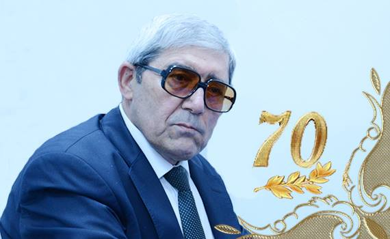 Head of department, Bikas Aghayev, turning 70 years old