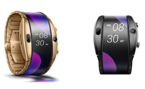 The company Nubia introduced a hybrid smartphone and smart watches with a flexible display