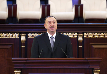 President of the Republic of Azerbaijan Ilham Aliyev's speech at the 70th anniversary of ANAS