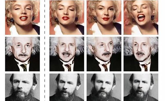 "The neural network was taught to ""animate"" portraits based on just one static image"
