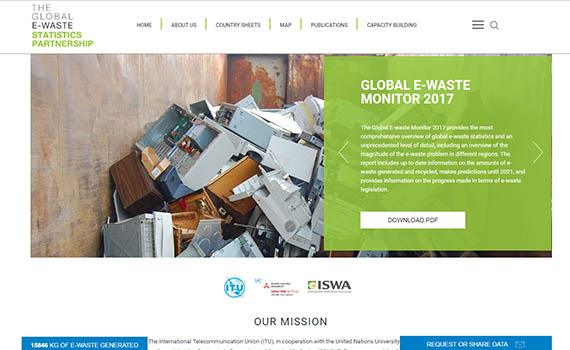 Global E-waste Statistics Partnership Launches globalewaste.org to Help Address Global E-waste Challenge