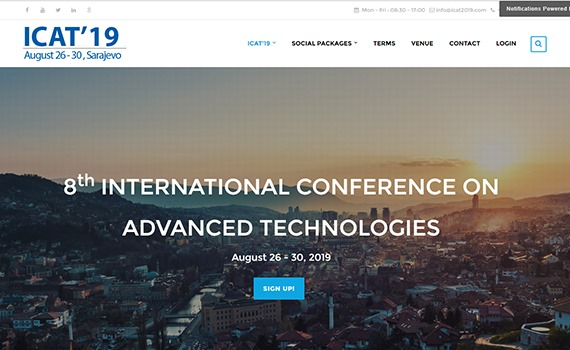 The Institute of Information Technology is represented in the international scientific committee of the international conference to be held in Sarajevo