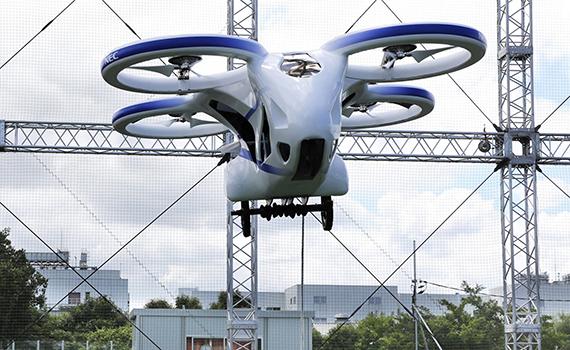 Sərnişin dronu sınaqdan keçirilib