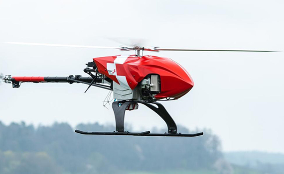 Rega air rescue drone can autonomously search for missing persons