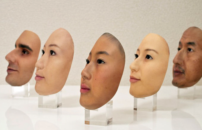 The Japanese have created eerie, hyper-realistic masks for learning facial recognition systems.