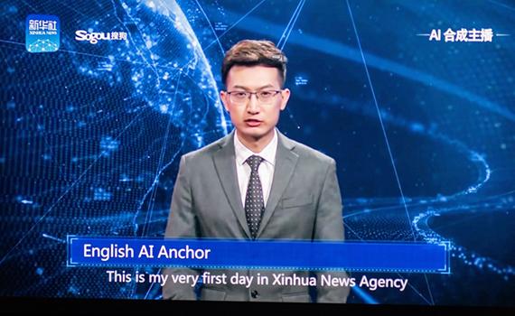 Çin virtual televiziya aparıcılarını dünyaya çıxarır