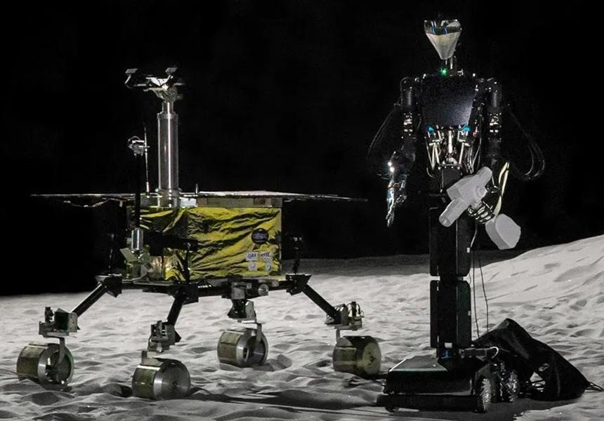 Ayda kosmonavtlar üçün robot-köməkçilər yaradılacaq