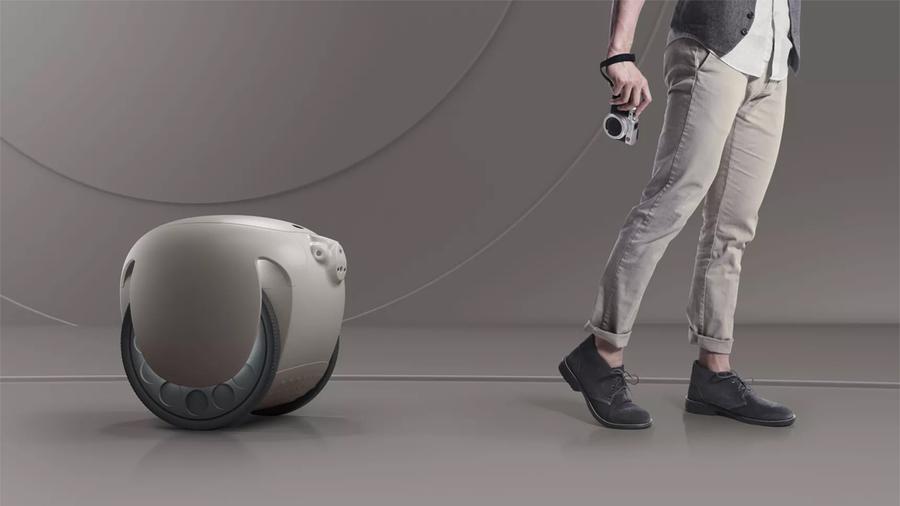 Робот-чемодан Gita проследует за хозяином куда угодно