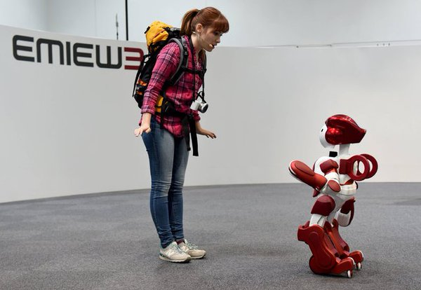 Robot assistant to locate people needing help