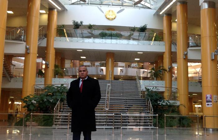 İnformasiya Texnologiyaları İnstitutunun əməkdaşı Belarusun Milli Dövlət Kitabxanasında olmuşdur
