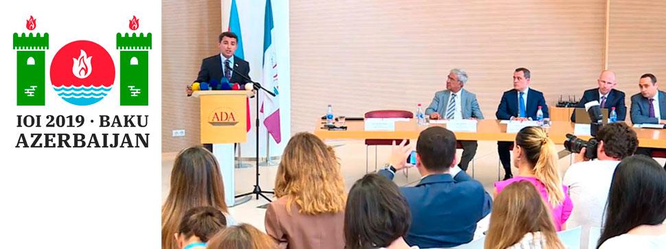 Для участия в проходящей в Баку Международной олимпиаде по информатике прошли регистрацию более 600 школьников, учителей и экспертов