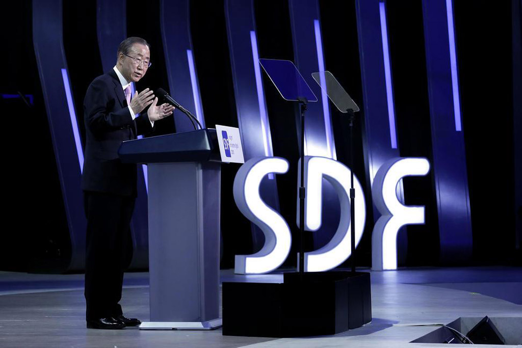 Ban Ki-moon: Data is the new oil