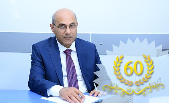 AMEA-nın müxbir üzvü Ramiz Alıquliyevi 60 illik yubileyi münasibətilə təbrik edirik!