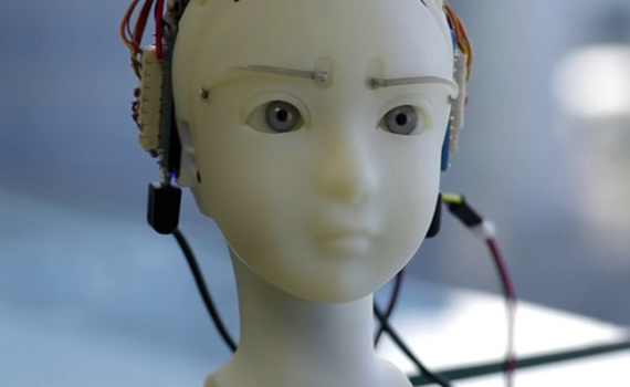 A new robot can look into your eyes