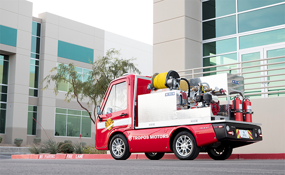 Compact fire and refrigeration electric cars introduced