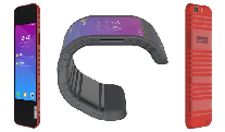 """""""Lenovo"""" şirkəti elastik smartfonunu nümayiş etdirib"""