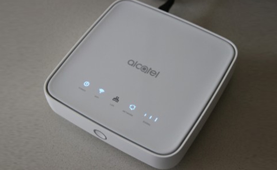 Alcatel HH40V can distribute internet anywhere in the world
