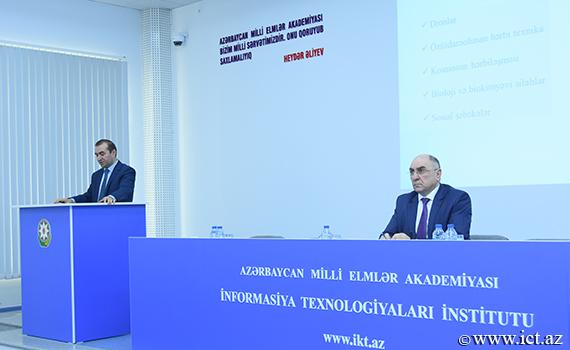 """""""IV sənaye inqilabı: sosial-iqtisadi trendlər və çağırışlar"""" mövzusunda məruzə dinlənildi"""