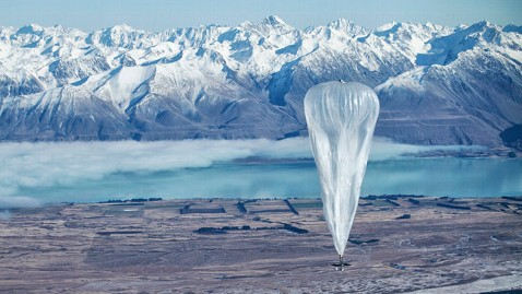 Google Project Uses Balloons to Expand Internet Access