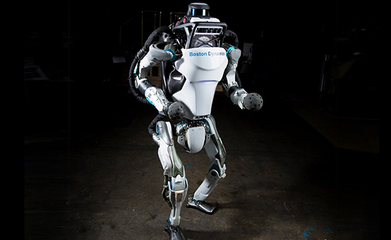 Created robot, who is not afraid of any obstacles