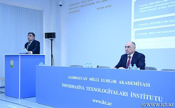 Elektron təhsil problemlərinə həsr olunmuş elmi seminar keçirildi