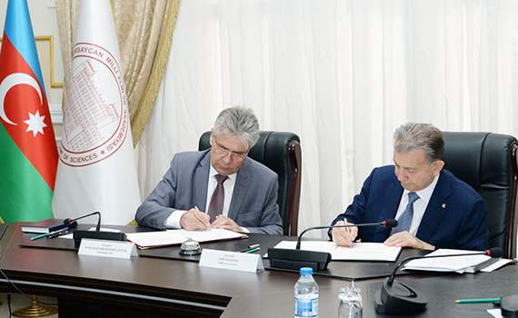ANAS and the Russian Academy of Sciences signs an agreement on scientific and technical cooperation