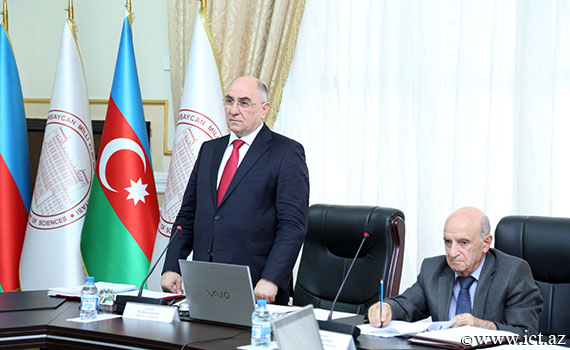 "Academician Rasim Alguliyev: ""Extension of scientific research in the field of radio electronic warfare is necessary"""