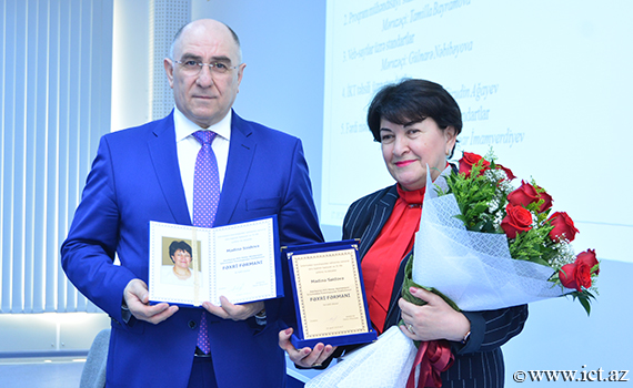 Scientific Secretary of the Institute was awarded Honorary Diploma