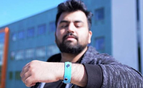 Bracelet created to help control emotions