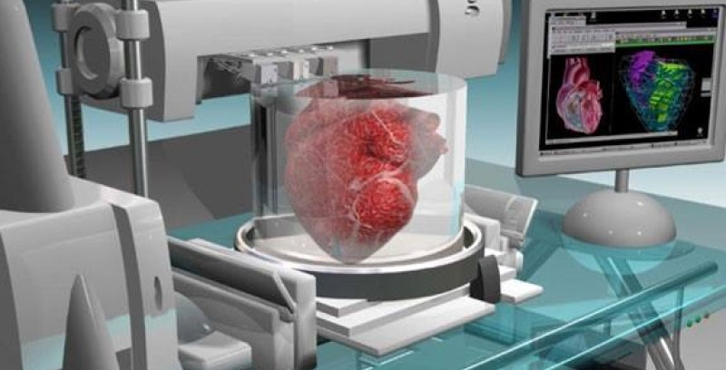 Биопринтер «научили» печатать человеческие органы за несколько секунд