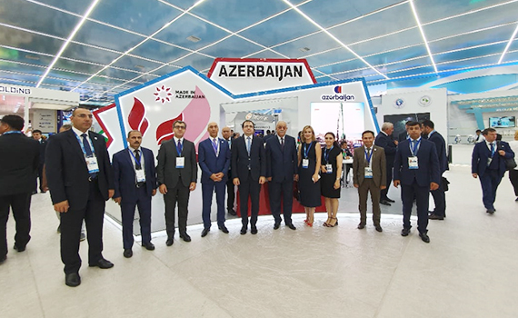 Azerbaijan represented by national pavilion at Caspian Innovative Technologies Exhibition