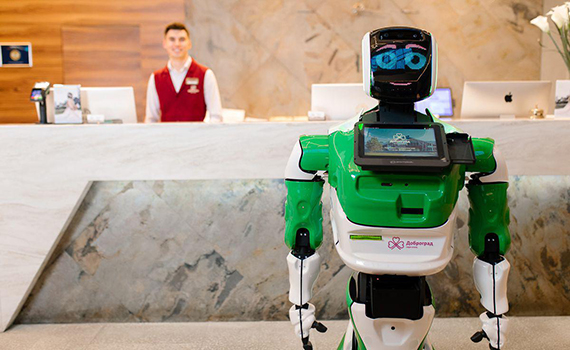 Robot replaced hotel administrator