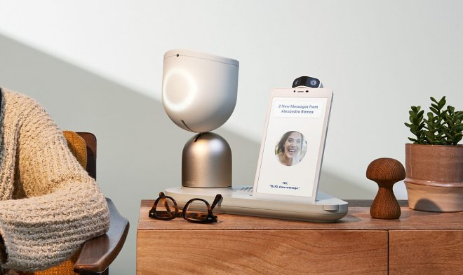 ElliQ Robot is designed specifically for the elderly