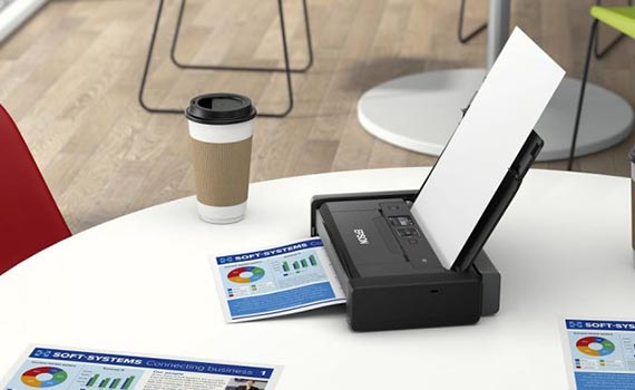 The company Epson has released a portable printer in the world