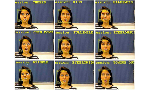 Wheelchairs with artificial intelligence can be controlled using facial expressions.