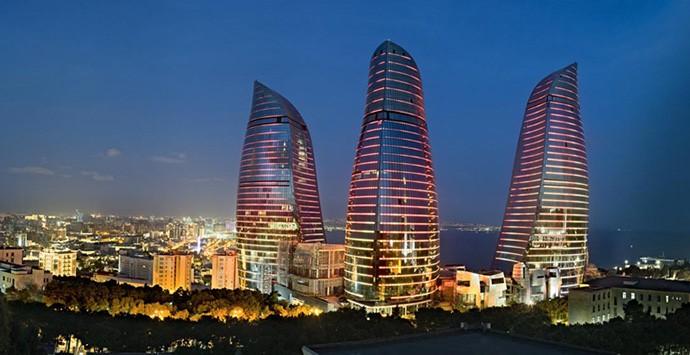 Baku will present 3D copy of Flame Towers  Source : http://3dprint.az/en/article/3d-print-conference-baku-will-present-3d-copy-of-flame-towers © 3dprint.az