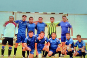 Football team of the Institute of Information Technologies has demonstrated exciting game at 1st Inter-institutional championship