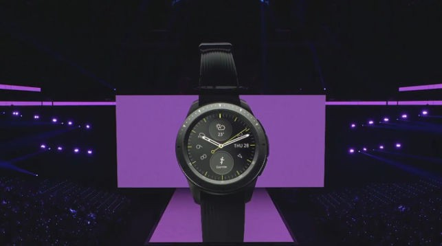Samsung unveils its latest smartwatch — the Galaxy Watch