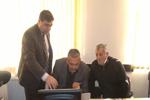 İnformasiya Texnologiyaları İnstitutunun əməkdaşları Göyçay rayonunda ezamiyyətdə olublar