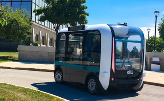 3D-printerdə süni intellektli avtobus çap edilib
