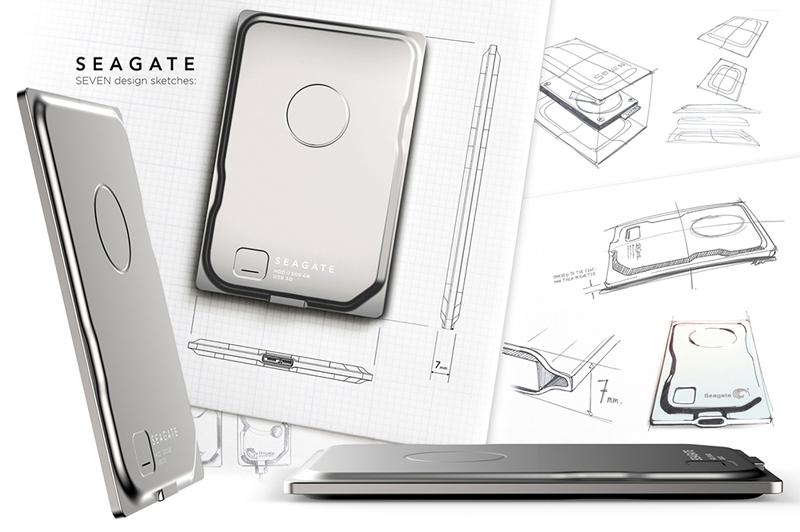 """Seagate Seven"" ən nazik portativ sərt diskdir"