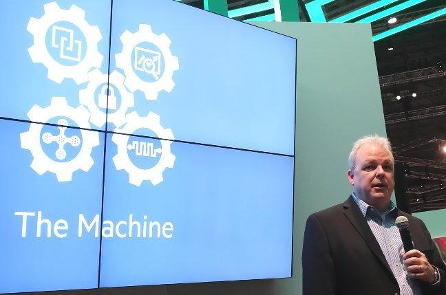 """""""HP"""" 2016-cı ildə """"Machine"""" kompüterinin prototipini təqdim edəcək"""