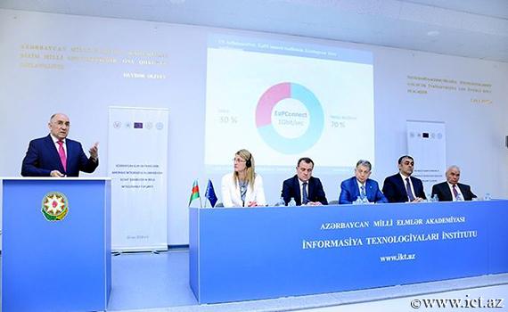 Академик Расим Алигулиев: «Сеть AzScienceNet является виртуальным мостом для интеграции азербайджанского научно-образовательного сообщества в Европу»